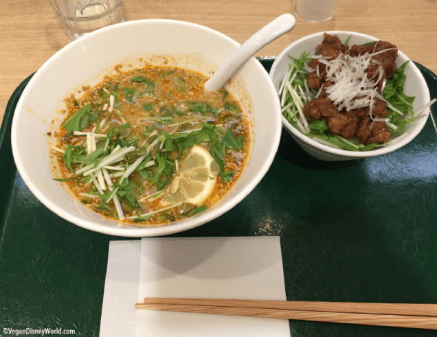 Miso Ramen and Soy Meat
