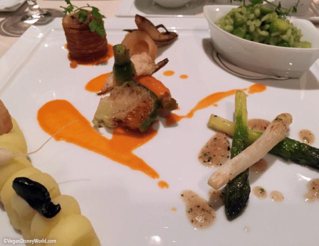 English Pea and Asparagus Risotto