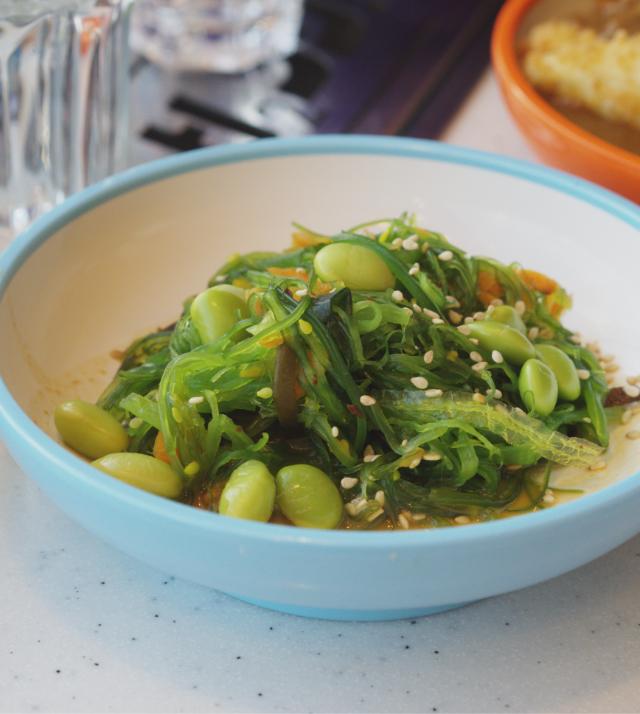 Kaiso Seaweed at Yo Sushi