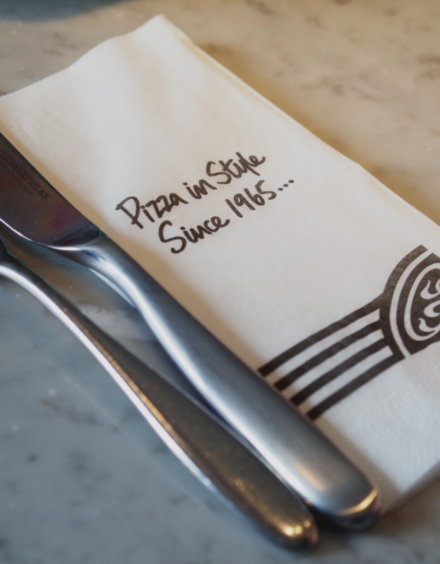 Pizza Express Napkin