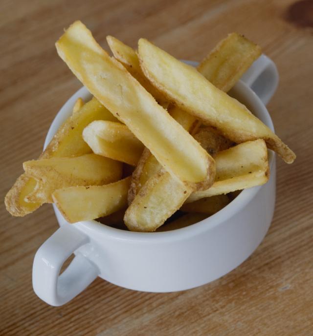 Chips at Akva Edinburgh