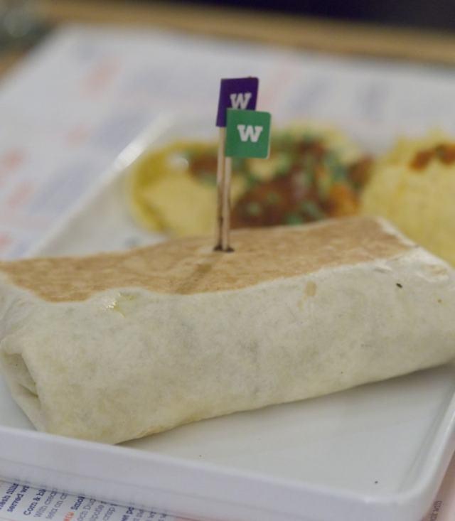Vegan burrito at Wahaca Edinburgh