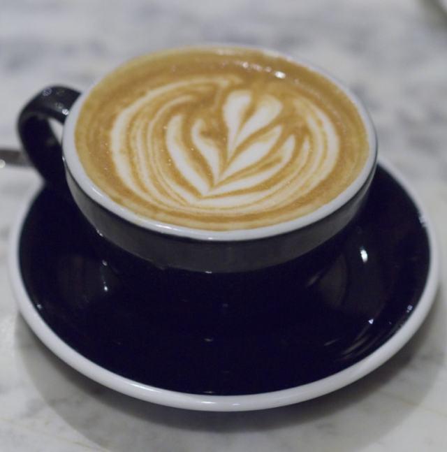 Coffee at Burr and Co Edinburgh