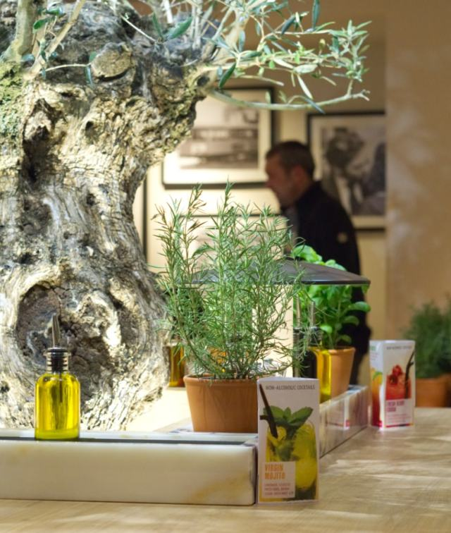 Vapiano Edinburgh table