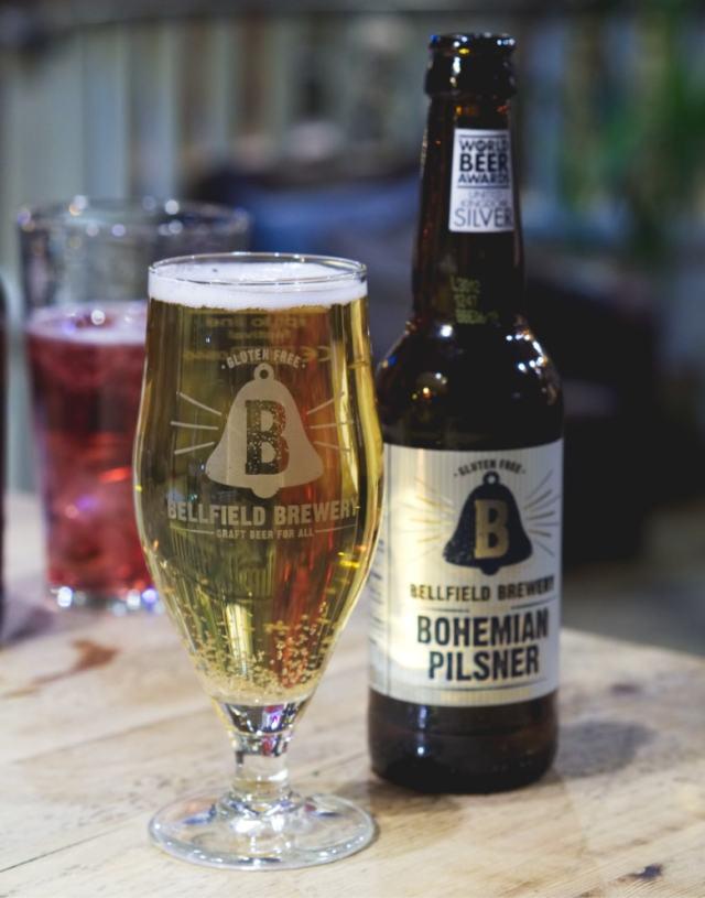 Vegan Bellfield Brewery Beer at No.1 The Grange, Edinburgh