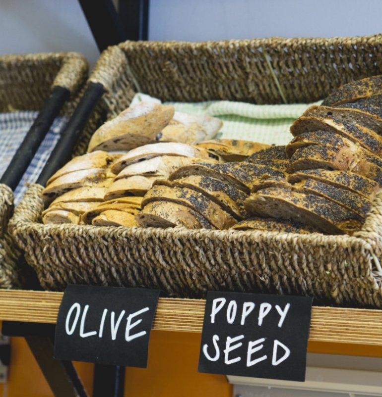 Vegan Bread at Union of Genius