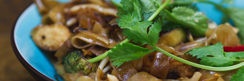 Vegan Pad Thai at Bar Soba, Edinburgh