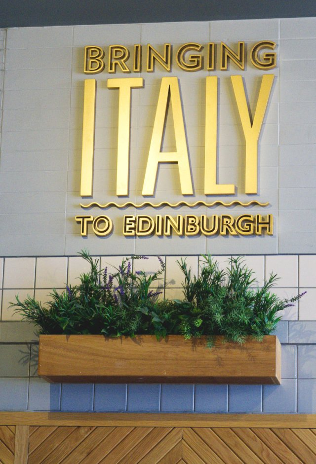 Inside Ask Italian Edinburgh