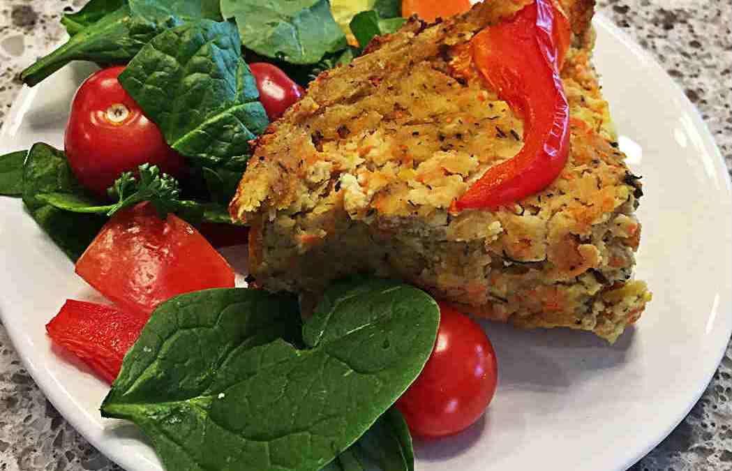 Easy Crustless Tofu Quiche (Whole Foods Vegan)