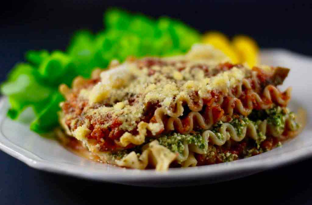 Vegan Lasagna – Tofu & Spinach, Whole Foods Plant Based