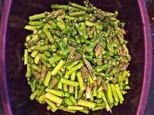 how to steam asparagus in the microwave wfpb