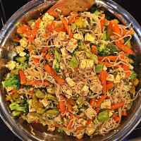 Epicure Healthy Tofu Pad Thai (Whole Foods Vegan)