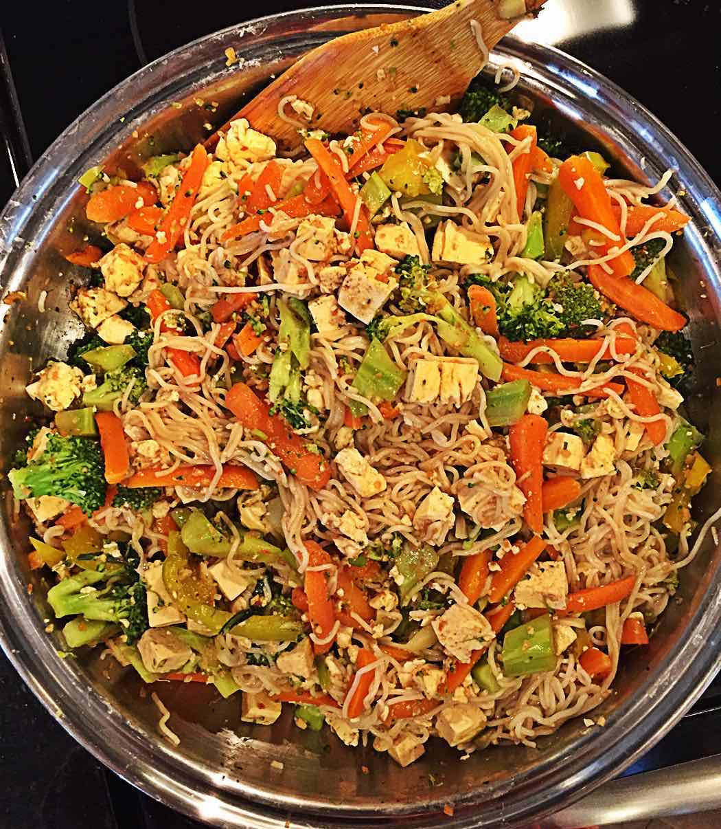 Vegan Epicure Pad Thai Mix with Tofu