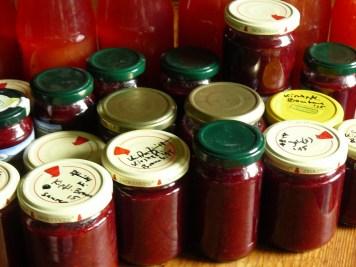 Kirschpflaumen-Brombeer-Marmelade
