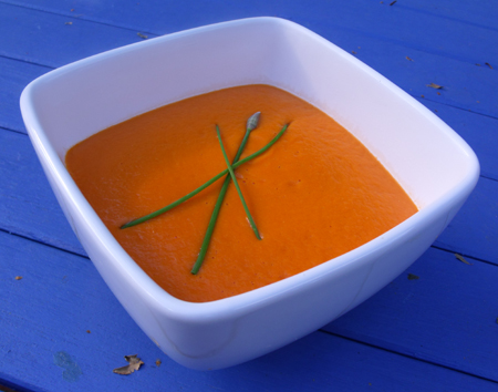 vegan cream of tomato soup (no soya)
