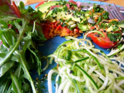 raw food from the wild food cafe