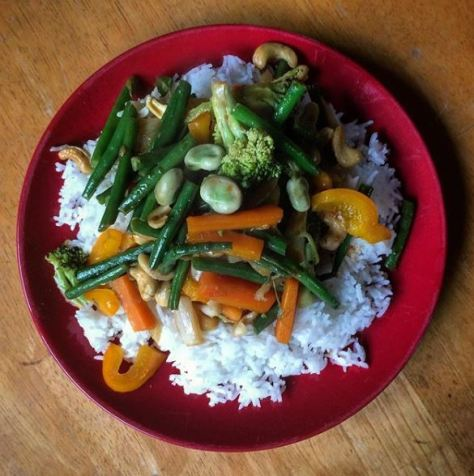 vegan stir-fry