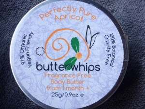 Butterwhips pure apricot body butter