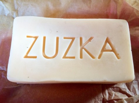 Zuzka honeysuckle soap - vegan