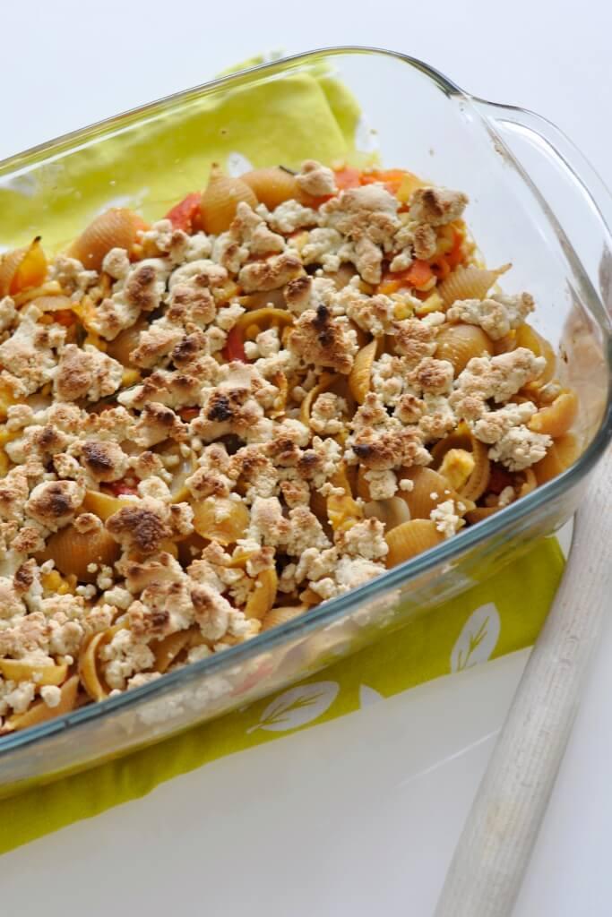 vegan casserolerecipe with tempeh family recipes
