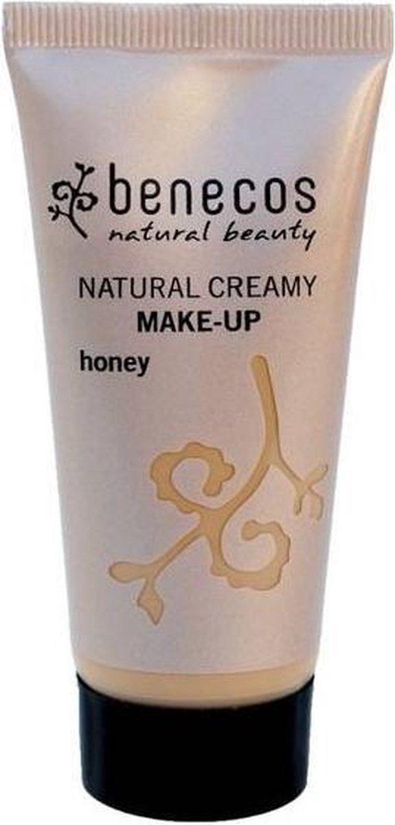 Benecos Natural Creamy Foundation - Honey 30ml
