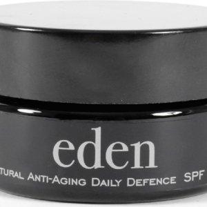 Eden Natuurlijke Dagcreme met SPF 30 - Crème-de-la-crème van Moeder Natuur! - Vegan Gezichtscrème met Hyaluronzuur voor Vrouwen en Mannen - 50 ml
