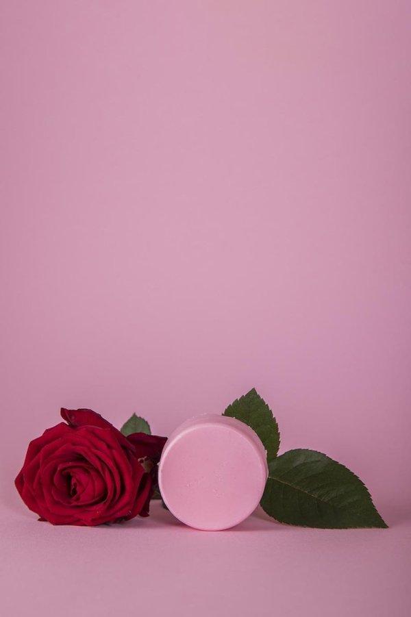 Happy Soaps Conditioner Bar- Tender Rose- plasticvrij- vegan- dierproefvrij- palmolievrij- 65 Gram