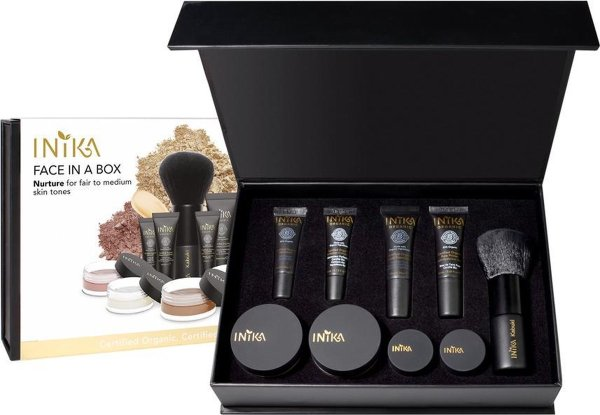 Inika Biolgisch Vegan Face In A Box Starter Kit Nurture