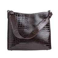 Hvisk Amble Croco Dark Brown