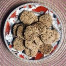 spelt and oatmeal savoury biscuits