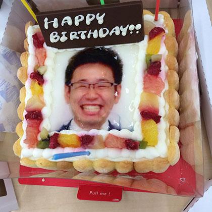 特別な日に贈る写真ケーキ!口コミ