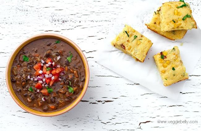 vegan black-bean-stew