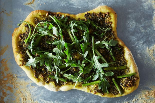 vegan Pizza arugula