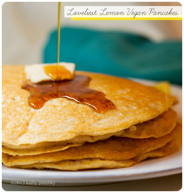 Loveliest Lemon Vegan Pancakes
