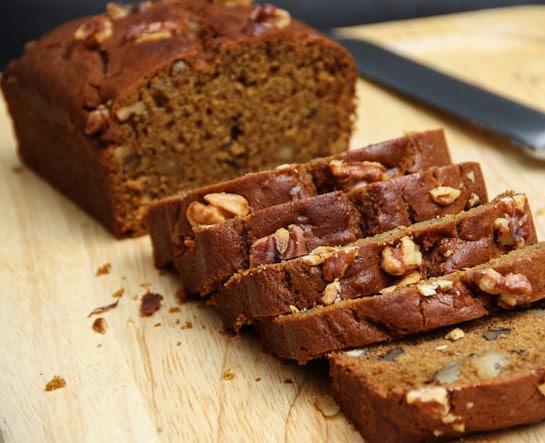 vegan mpkin-walnut-bread