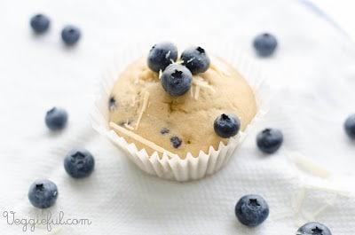 vegan blueberry white chocolate cupcake recipe