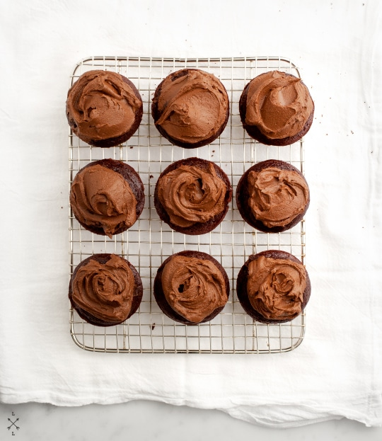 vegan cupcakes avocado icing