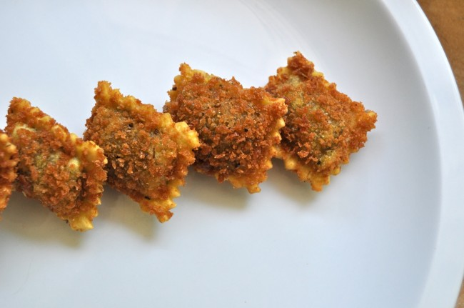 Vegan Toasted Ravioli