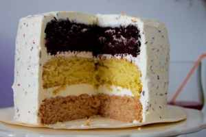 vegan+neapolitan+cake