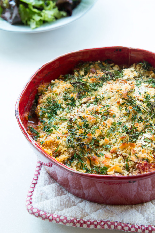 Curried Spring Squash Casserole