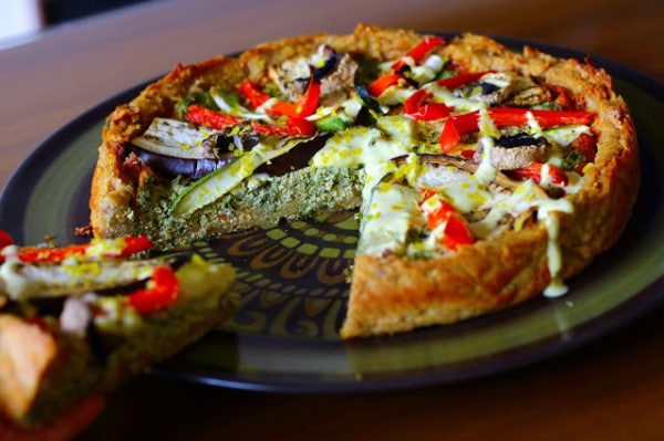 Deep Dish Pizza Quiche