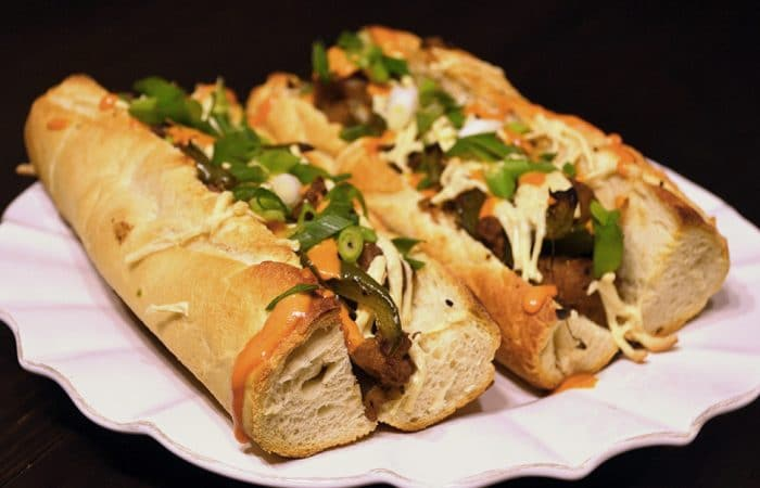 "Vegan Philly ""Cheesesteak"" w/ ""Special Sauce"" Recipe"