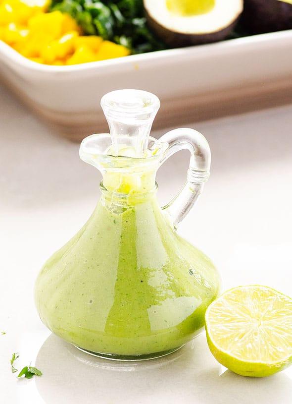 raw cilantro-avocado-dressing-recipe