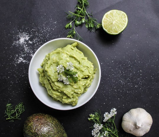 whipped guacamole