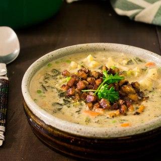 Vegan Creamy-Vegetable-Soup
