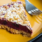 Peanut Butter and Jelly Frozen Pie
