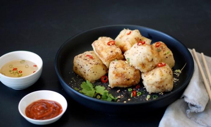 Salt and Pepper Silken Tofu with Szechuan Berries