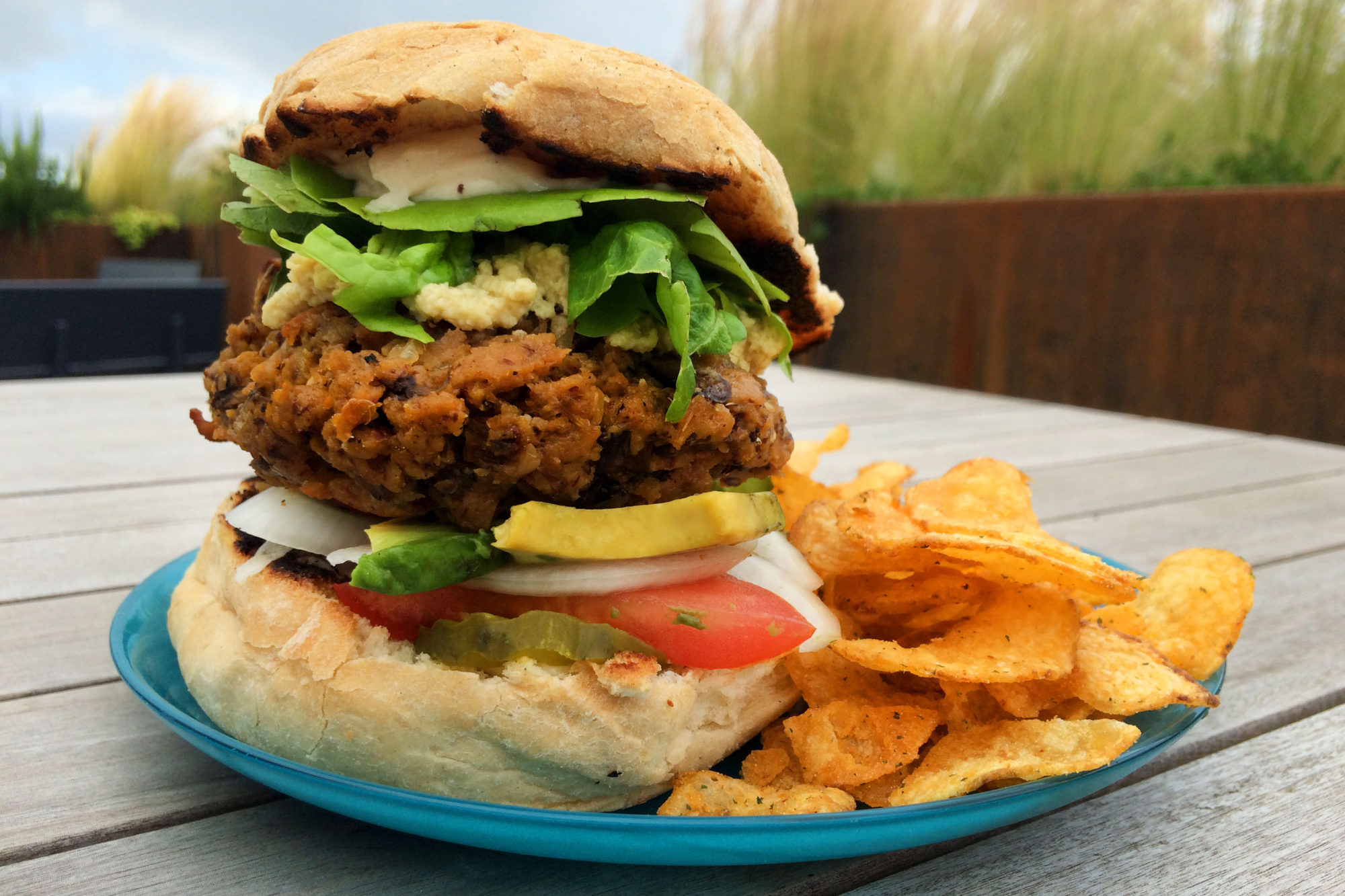 Big, Thick & Juicy Veggie Burgers