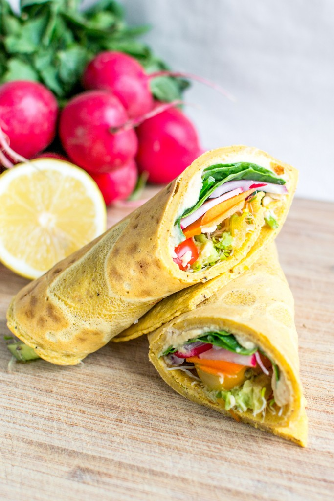 Morrocan Chickpea Wraps