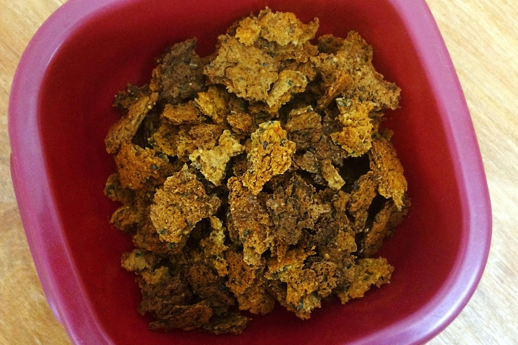 Homemade Dry Vegan Dog Food